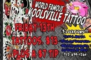 Koolsville Tattoo Deals