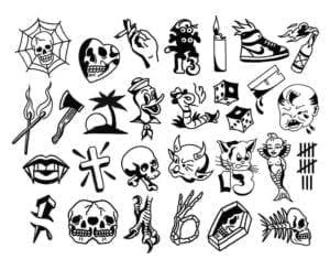 Koolsville Tattoo Designs