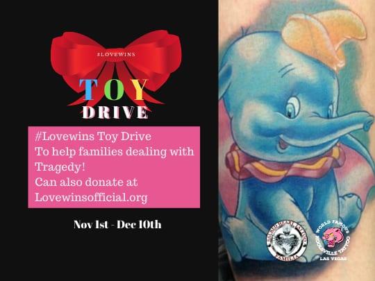 Las Vegas Toy Drive for Route 91 Victims