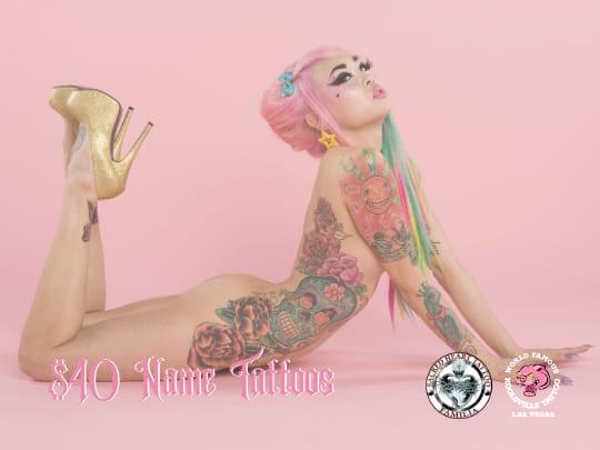 Name Tattoo Las Vegas NV